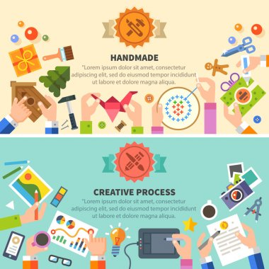 Handmade and creative process