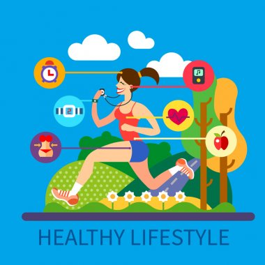 Healthy lifestyle and sport