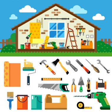 Home repair landscape