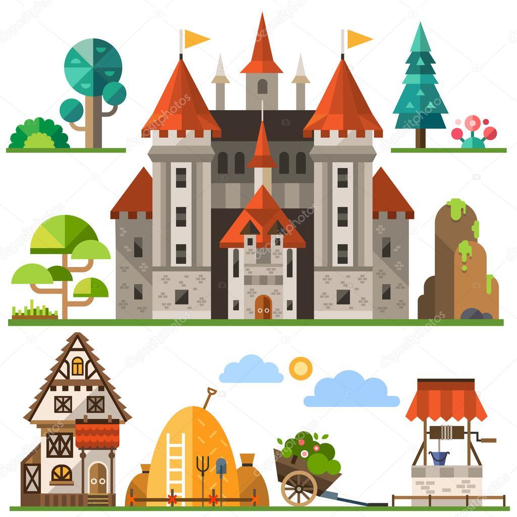 Medieval kingdom element