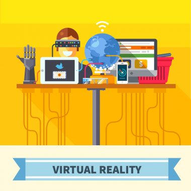 Virtual reality. New technologies and on line shopping