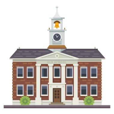 School or university building. Education