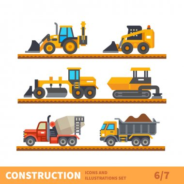 Transport and tool for construction