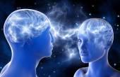 Fotografia Connessioni neurali nel cervello di uomini e donne. Amore a primo