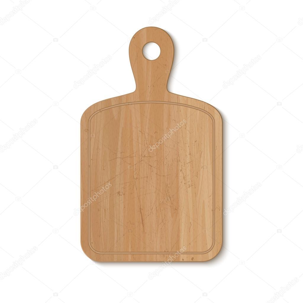 tabla de cortar de cocina — Vector de stock © bolotoff #79183790