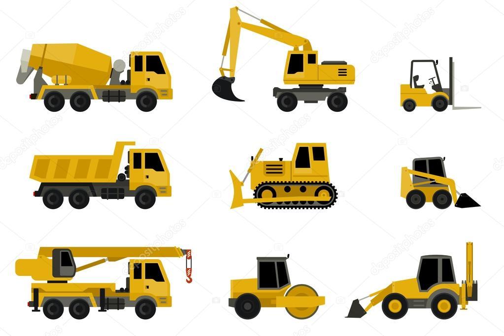 Imágenes: maquinaria de construccion   Iconos de las ...