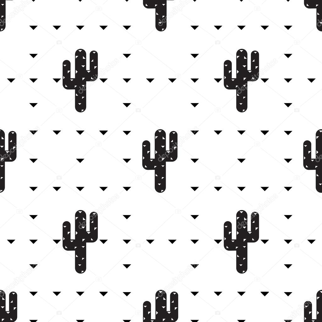 Succulent and cactus pattern