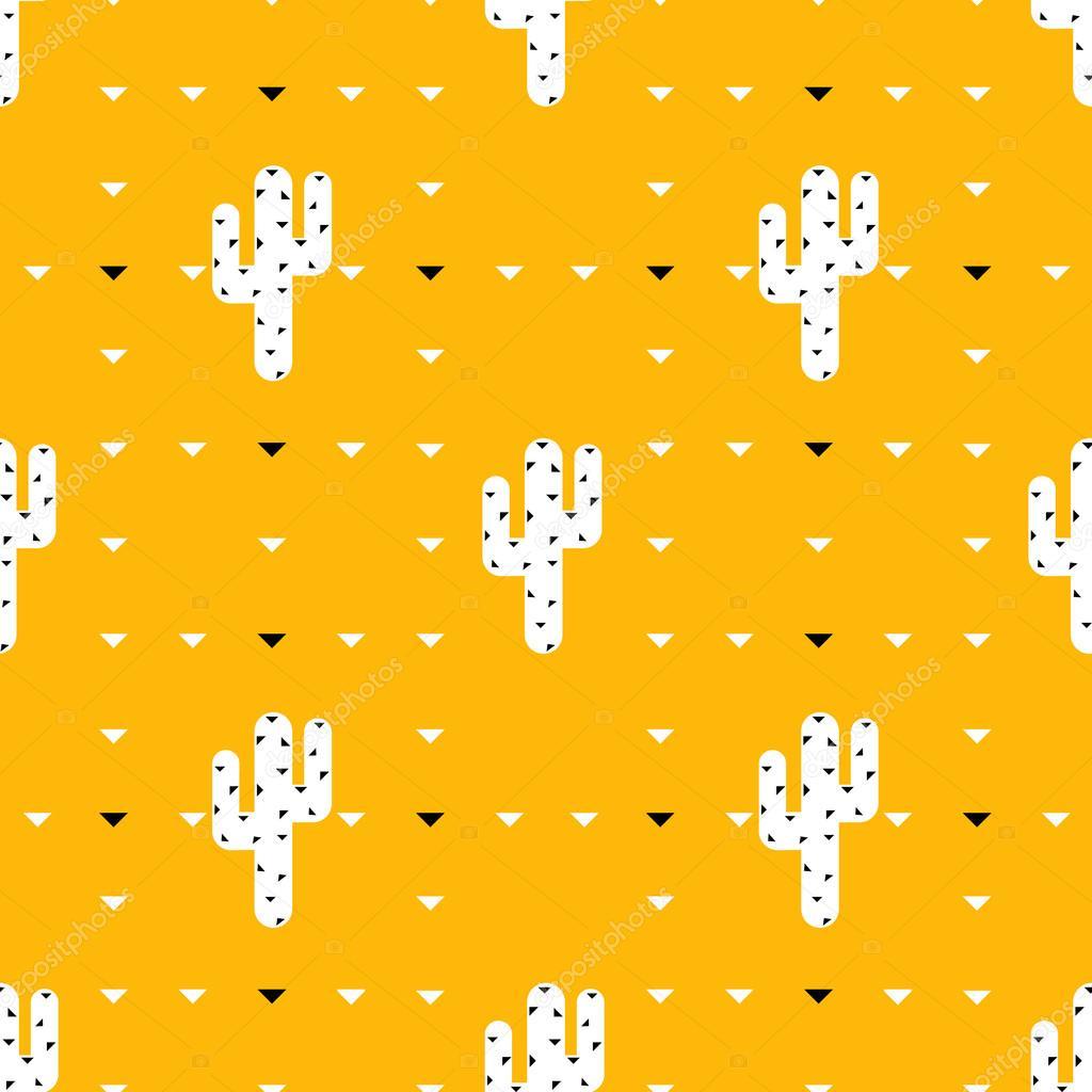 Succulent and cactus pattern