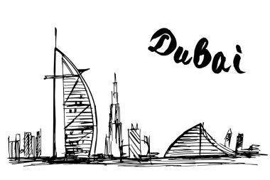 Burj Al Arab Jumeirah and Jumeirah Beach Hotel - Dubai