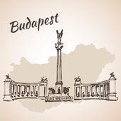 Fényképek Hosok tere - Budapest, Magyarország jelentős terei