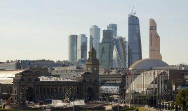 Kiev railway station in Moscow.