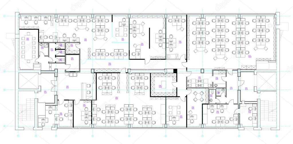 Büromöbel grafik  Büro-Möbel-Symbole-set — Stockvektor #100039904