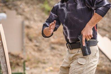Pulling Gun Training