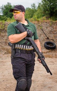 Shotgun Shooting Training