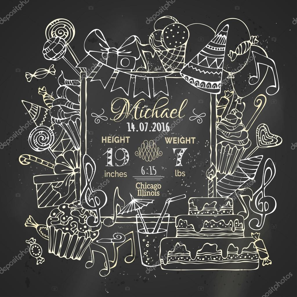 chalk template