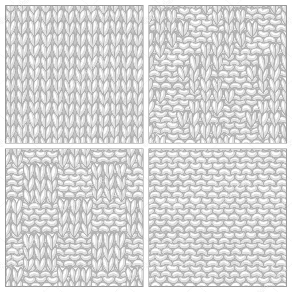 Conjunto de vector de varios patrones que hacen punto — Archivo ...