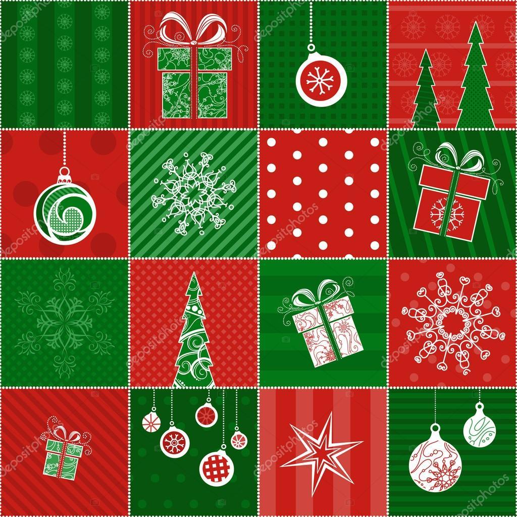 Papel de regalo de navidad archivo im genes vectoriales - Papel de regalo navidad ...