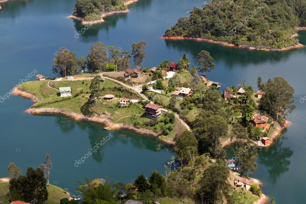 Guatape Lake, Colombia