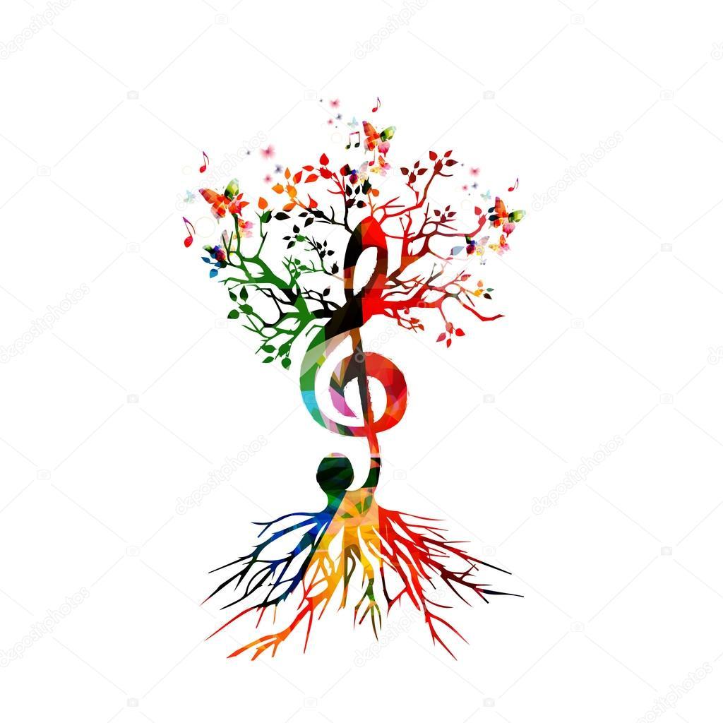 colores de fondo con notas musicales vector de stock vector musical notes vector musical notes png