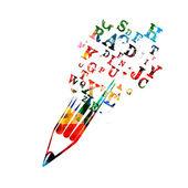 Fotografie koncept tvůrčího psaní