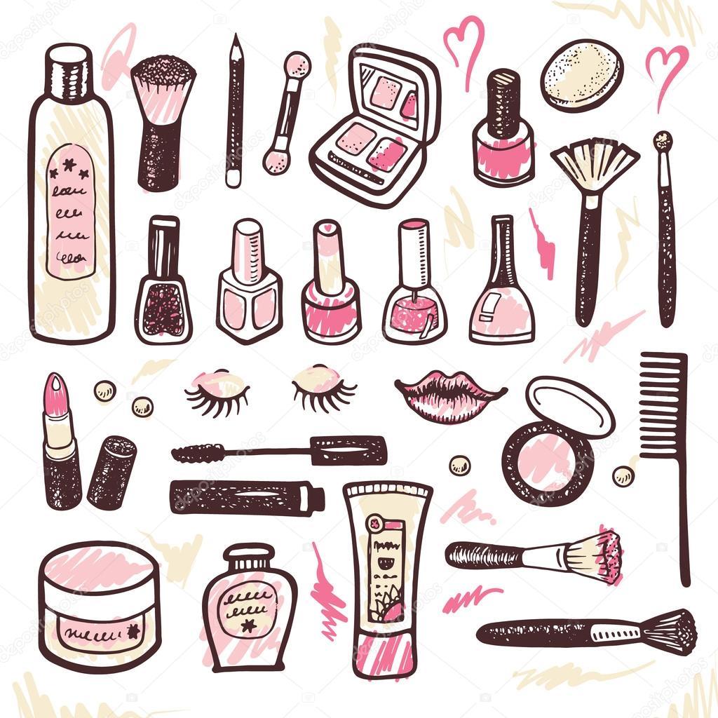 Нарисованная косметика фото