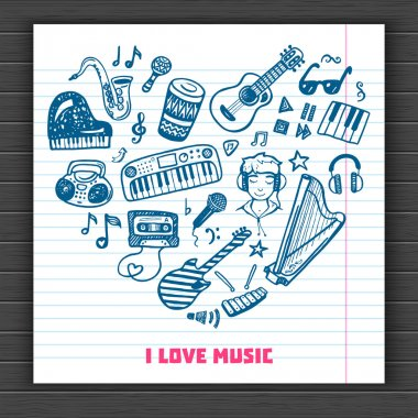 I love music background.