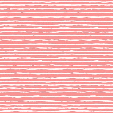 Seamless pattern with horizontal stripes. stock vector