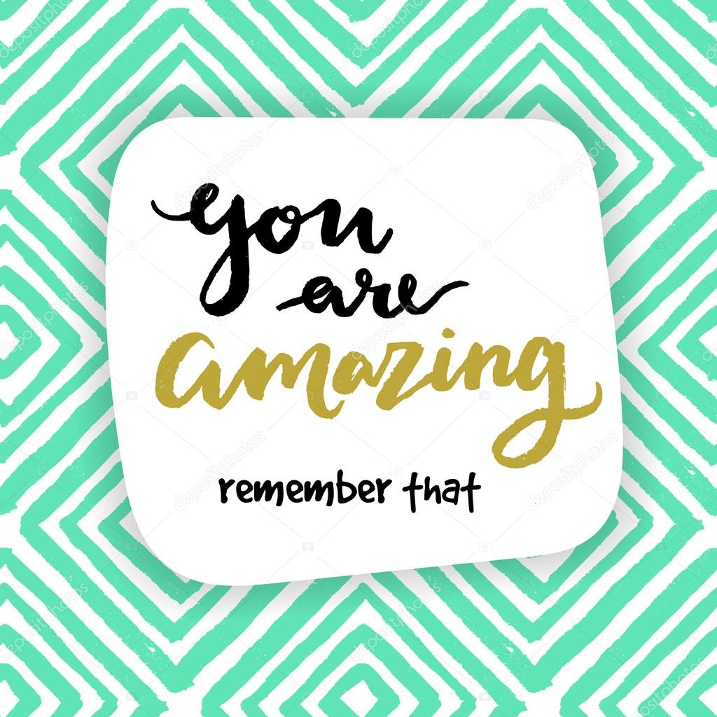 2 091 You Are Amazing Vector Images Free Royalty Free You Are Amazing Vectors Depositphotos