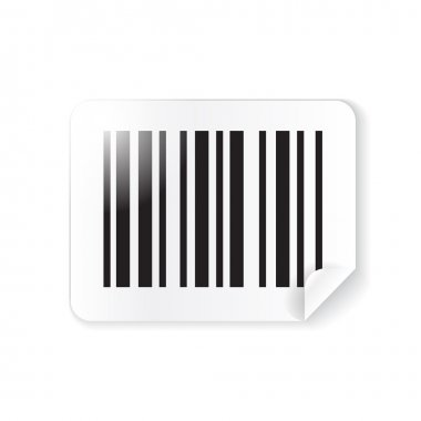Barcode sticker, label
