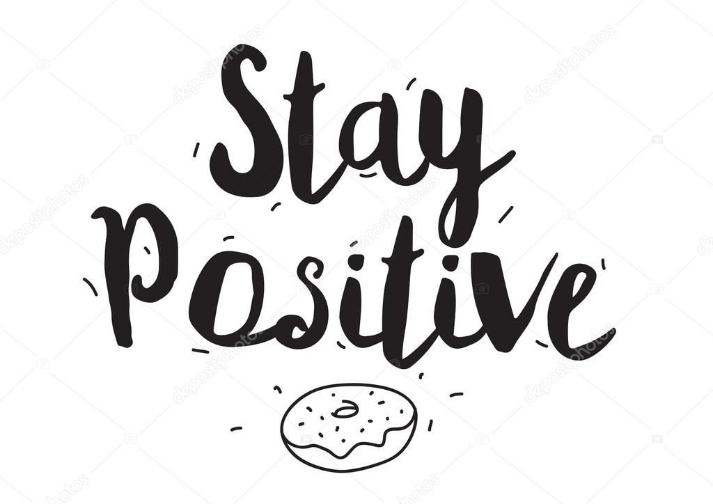 how to stay positive in sales
