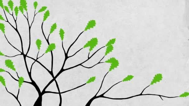 Tölgy fa közeli + alfa chanel