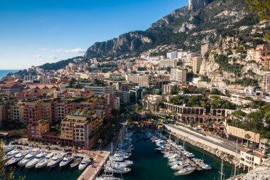 Monte Carlo skyline, French Riviera