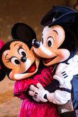 Buffalo Bill westernové Show s Mickey a přátelé v Disneylandu v Paříži