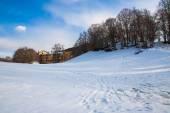Italiano montagne in inverno