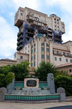 Tower of Terror, at Walt Disney Studios Park in Paris.