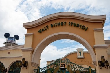 Entrance in Walt Disney Studios Park, Paris
