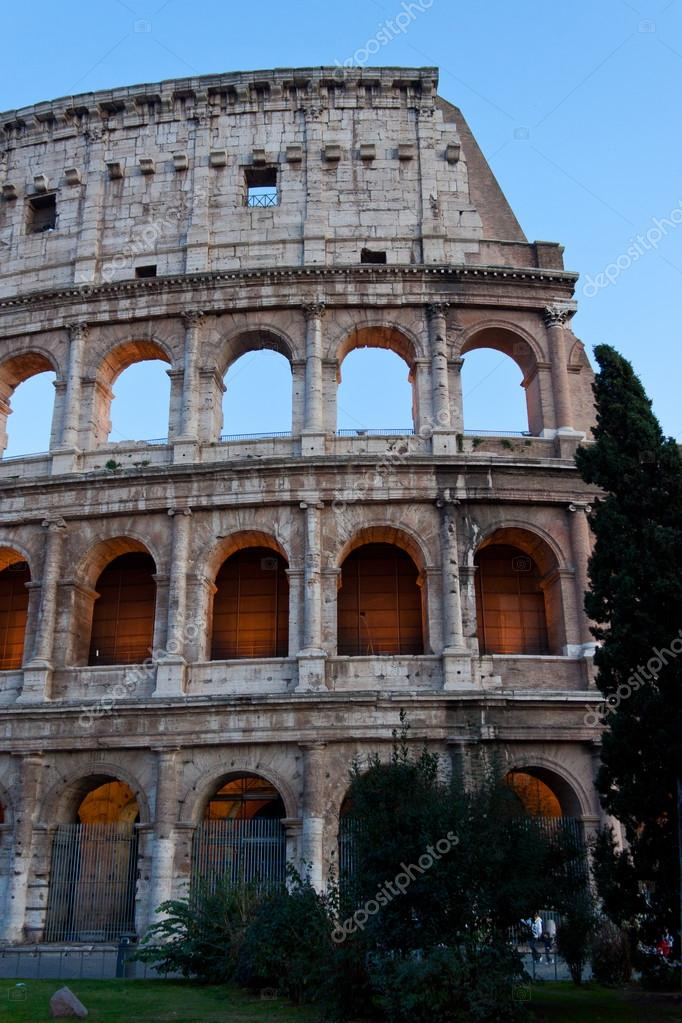 The Colosseum, in Rome, Italy