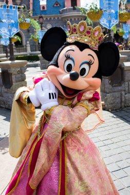 Minnie during Disneyland Paris' show