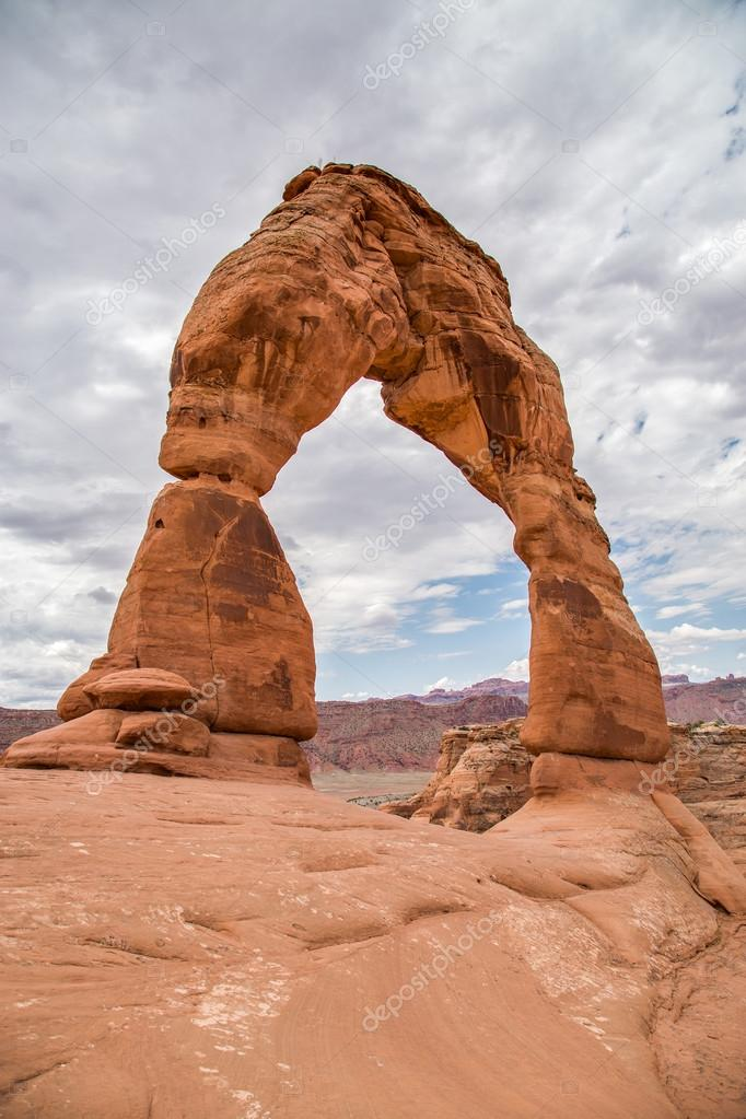 Delicate Arch in Arches National Park, Utah, Usa