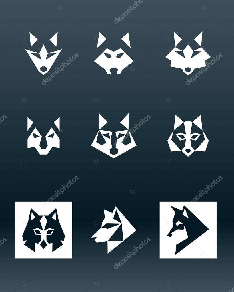 wolf logo � stock vector 169 vukobel 73853093