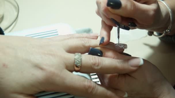 Nail art. Manikűr készítése