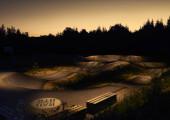 Pumptrack Aschheim wird beleuchtet