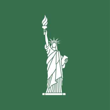 Statue of Liberty. New York landmark. American symbol