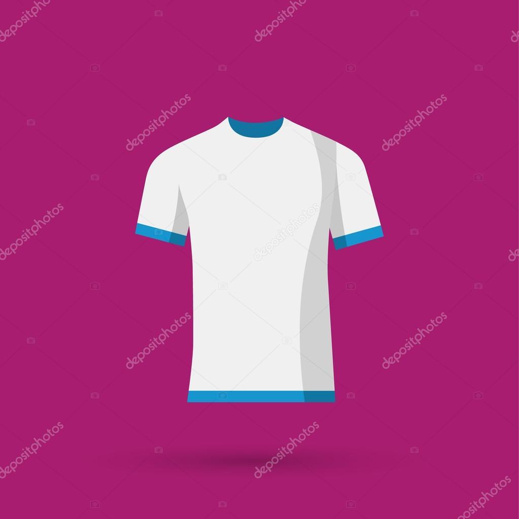 leere T-shirt-Vorlage — Stockvektor © marnikus #99131134