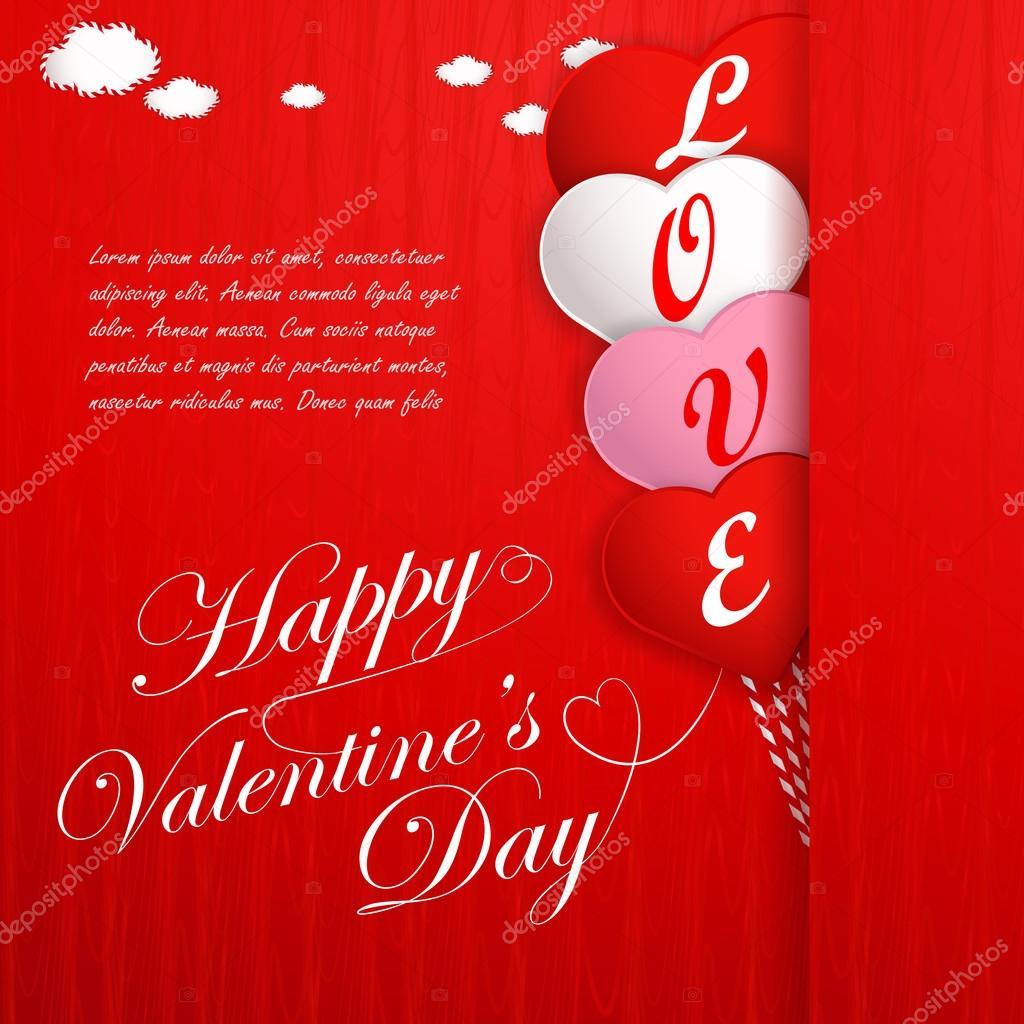 Fotos Fondos Con Frases De Amor Tarjeta Del Dia De San Valentin