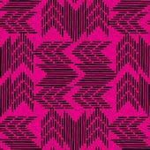 Forme geometriche astratte su uno sfondo viola. Senza giunte
