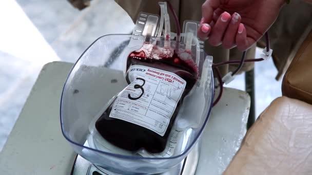 Dárce dávat krev