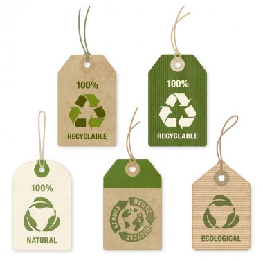 Vector Eco Price Tags