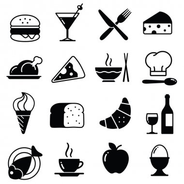Vector Food Icons Collection 1