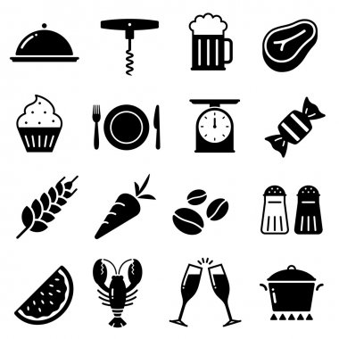 169_Vector Food Icons Collection 2